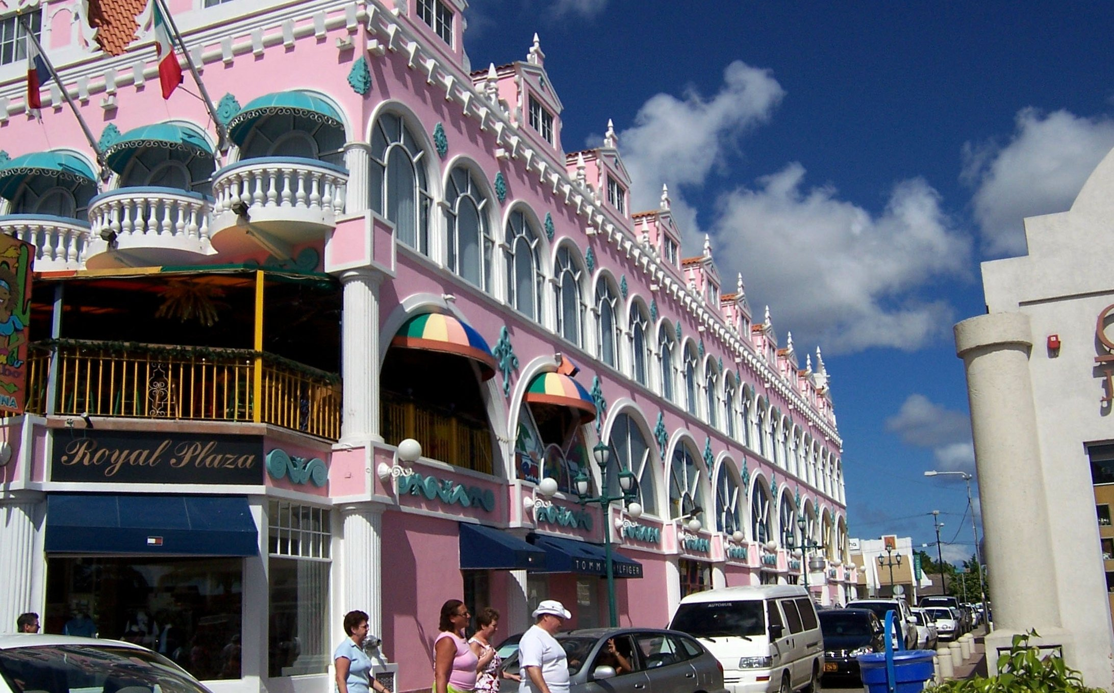 The Royal Plaza in Oranjestad