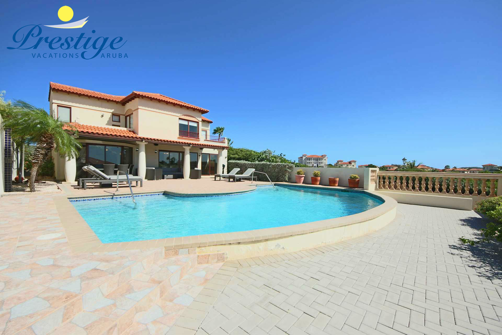 Your outdoor haven with a private swimming pool