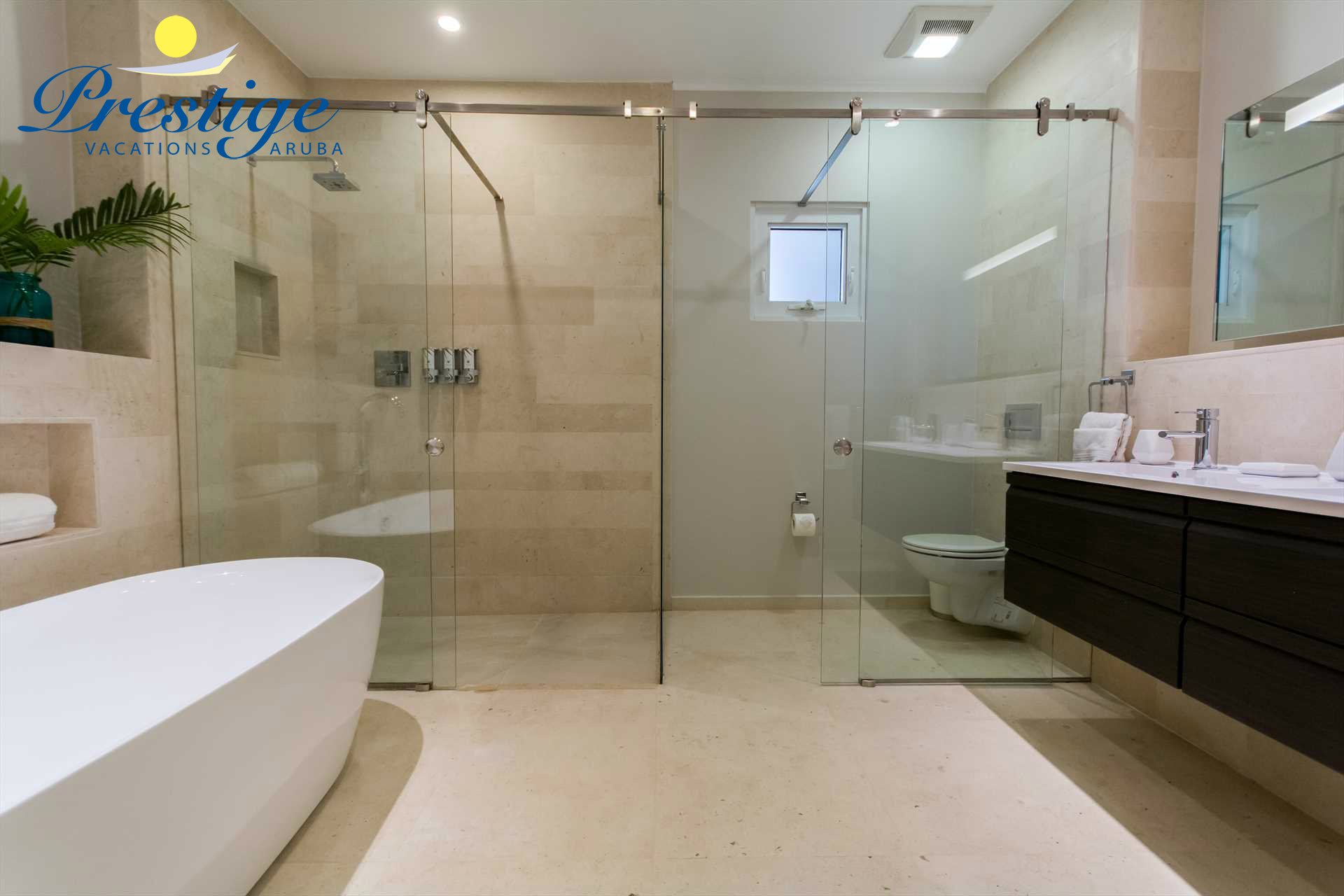 The master modern en-suite bathroom