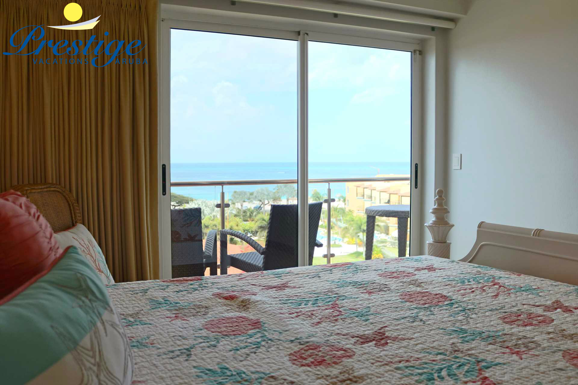 Your master bedroom with stunning views