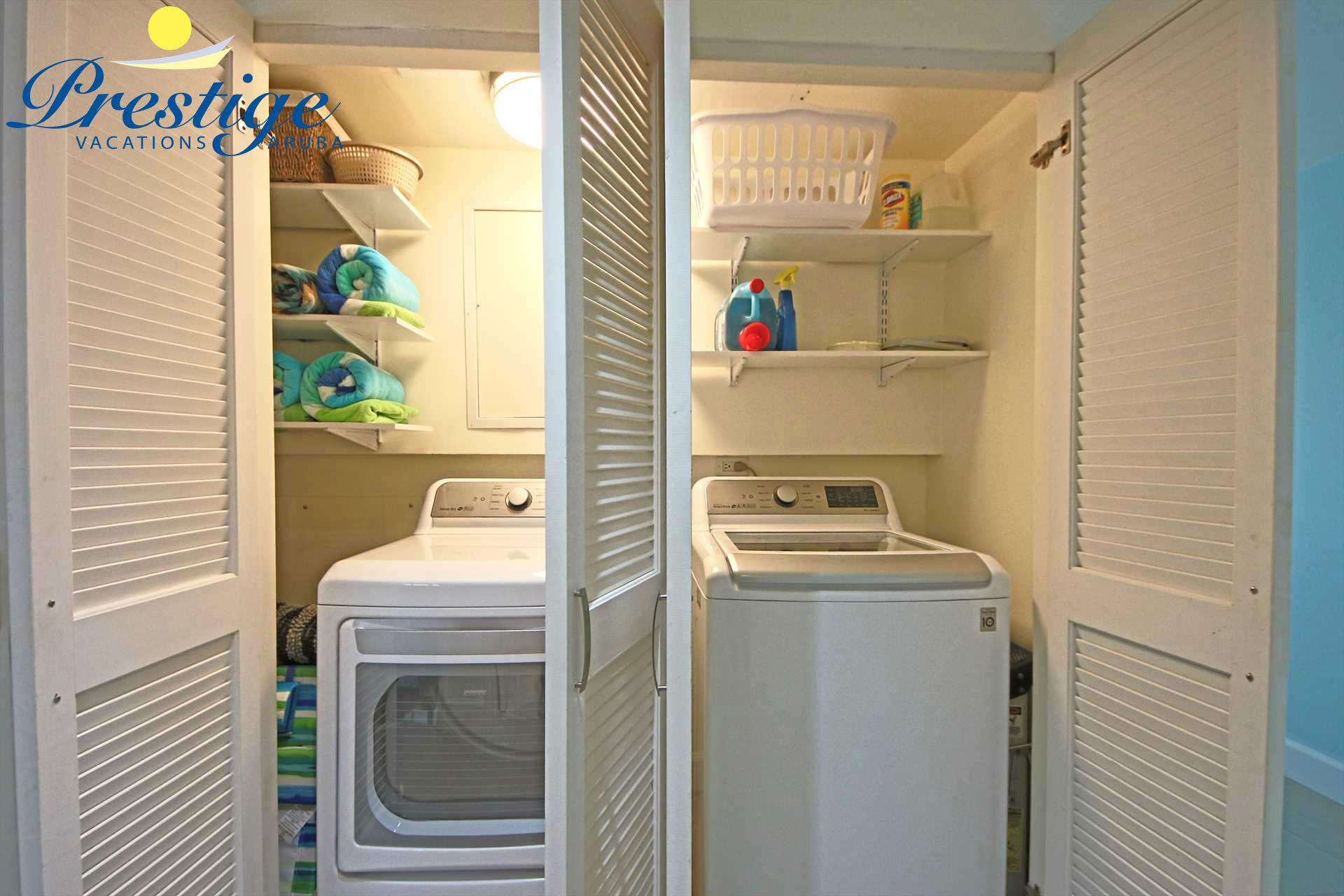 The LG 5.0 Cu. Ft. Washer and LG 7.3 Cu. Ft. Dryer