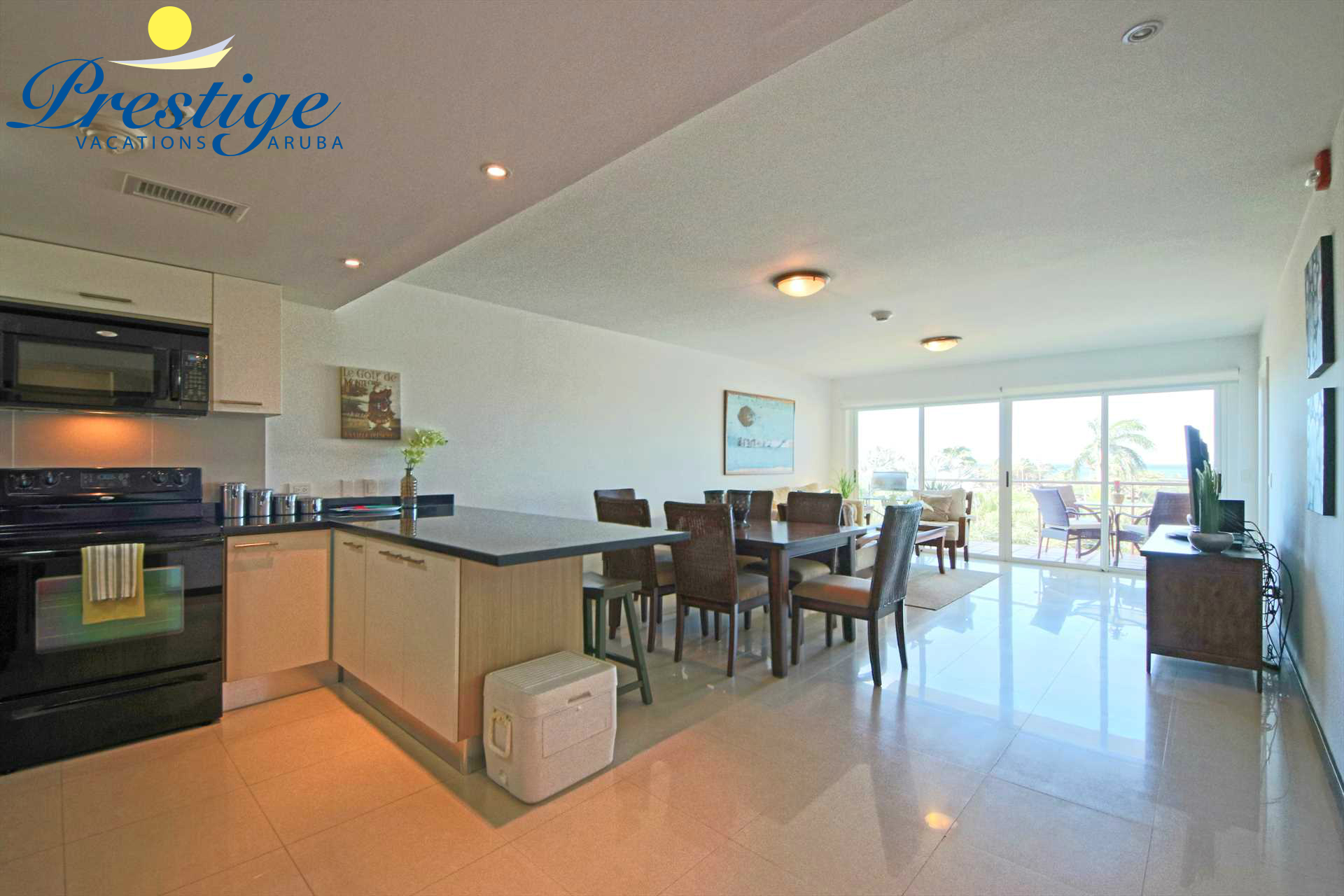 Full view of your beach vacation rental condo