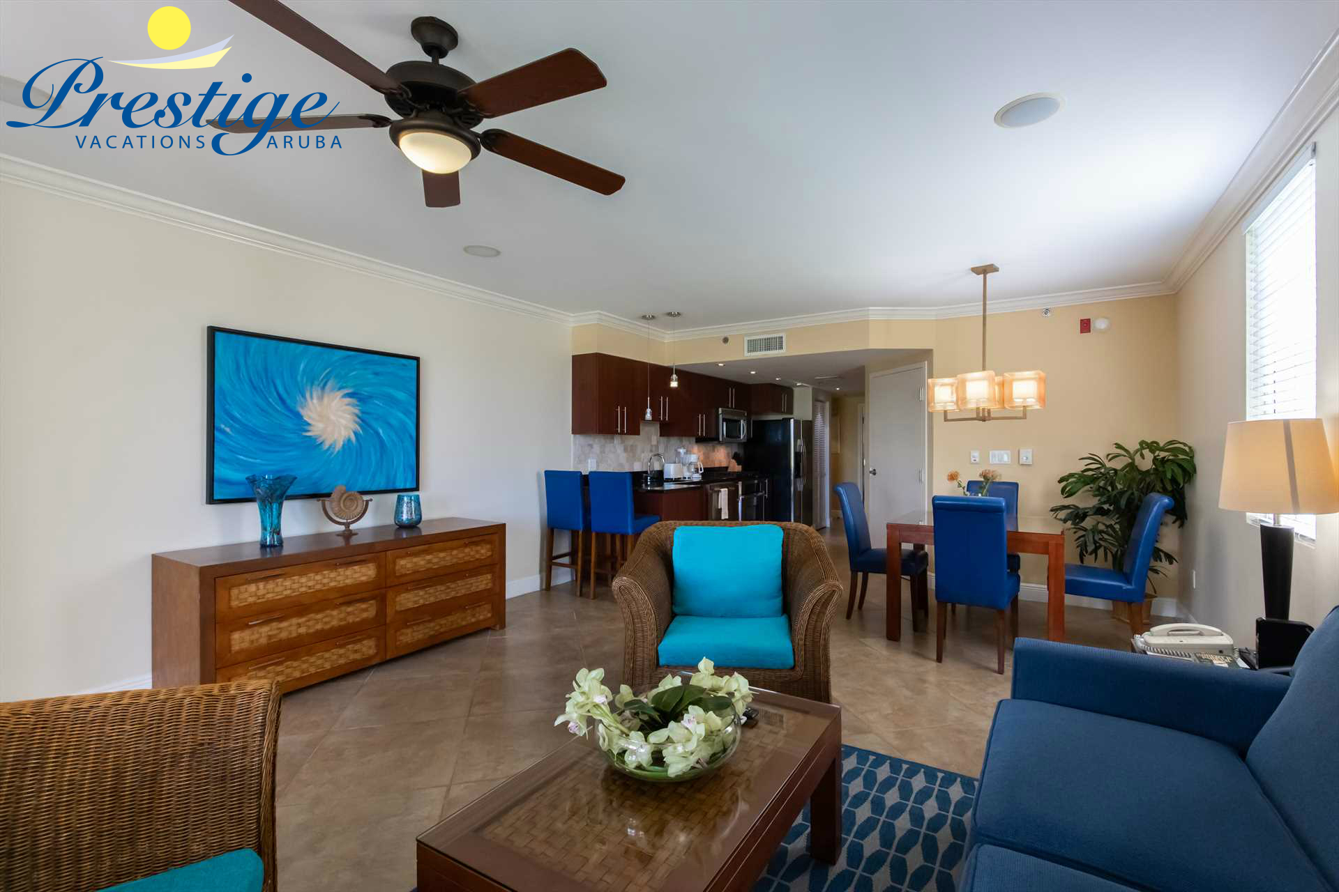 Full view of your exclusive vacation rental condo at the Divi resort