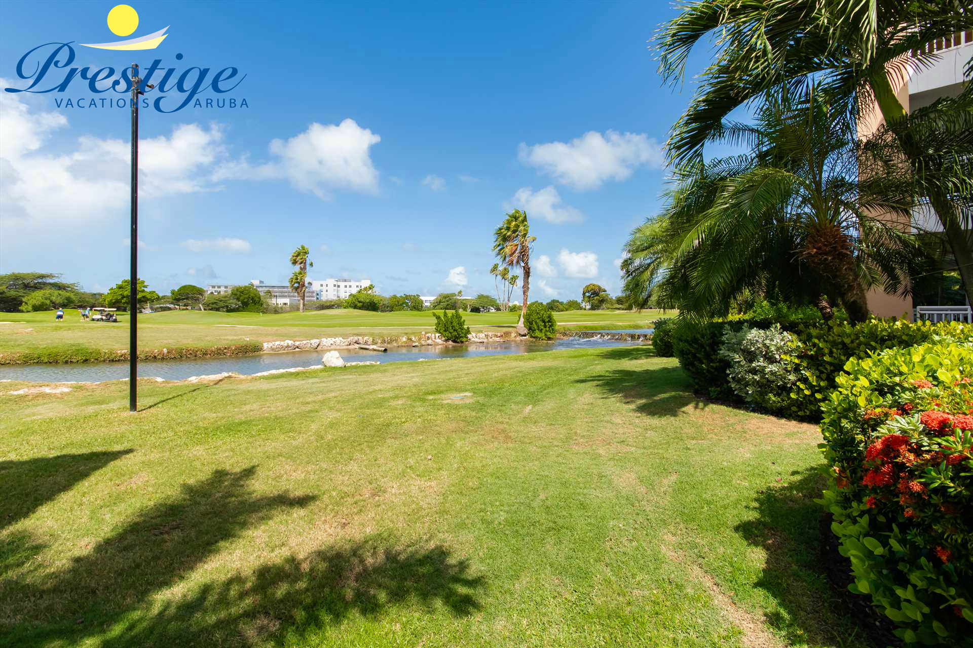 Experience the surrounding garden with beautiful flora and fauna of this resort