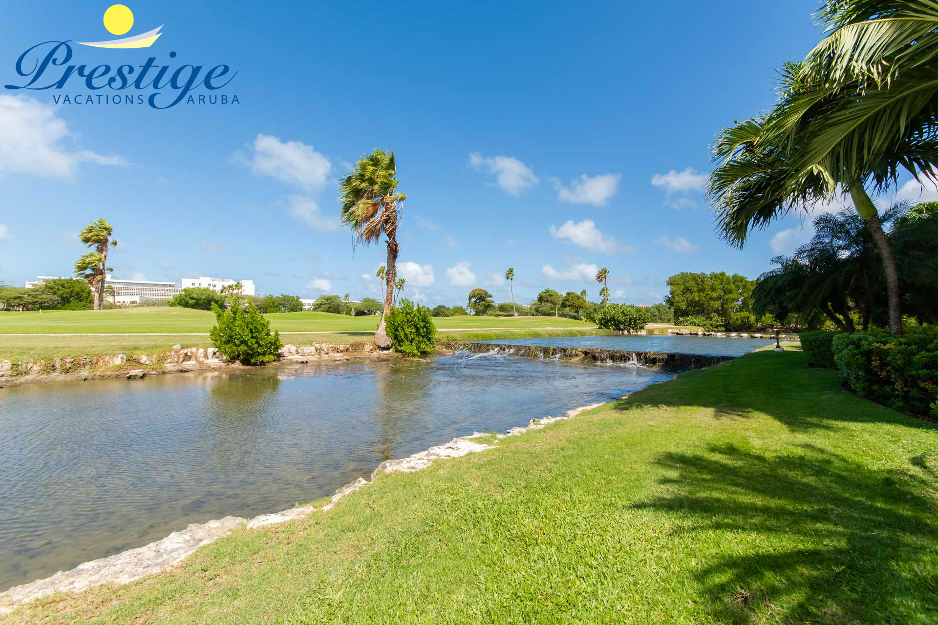 Enjoy the calming surroundings and the tranquil sounds of the lagoon stream
