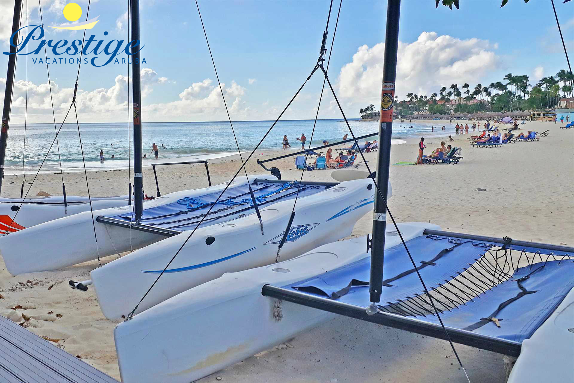 Divi Beach with various water sports experience available