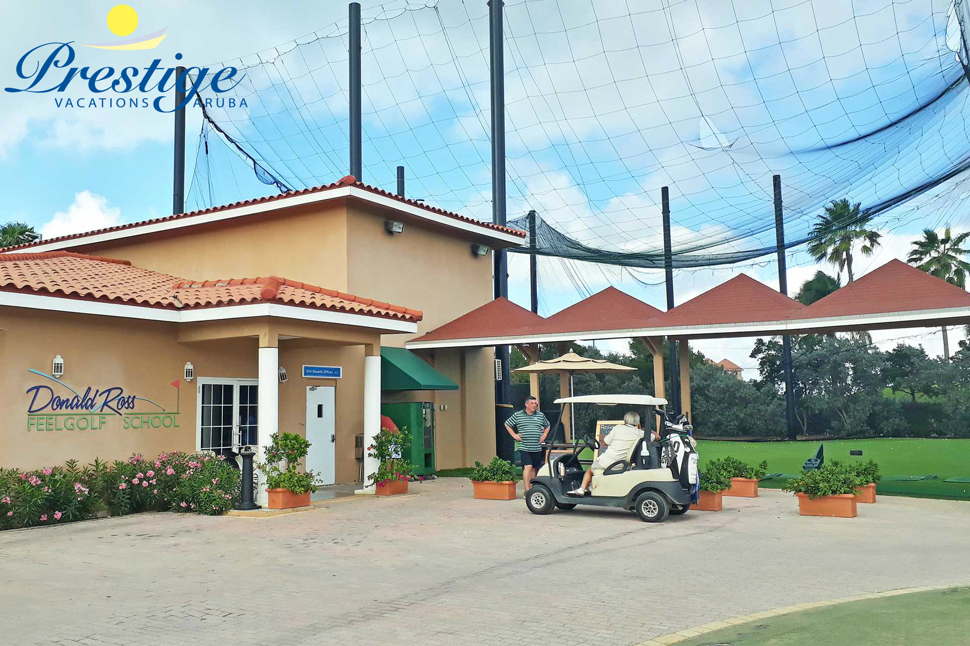 It offers a Golf Training facility with professional golf instructors for both individuals and groups
