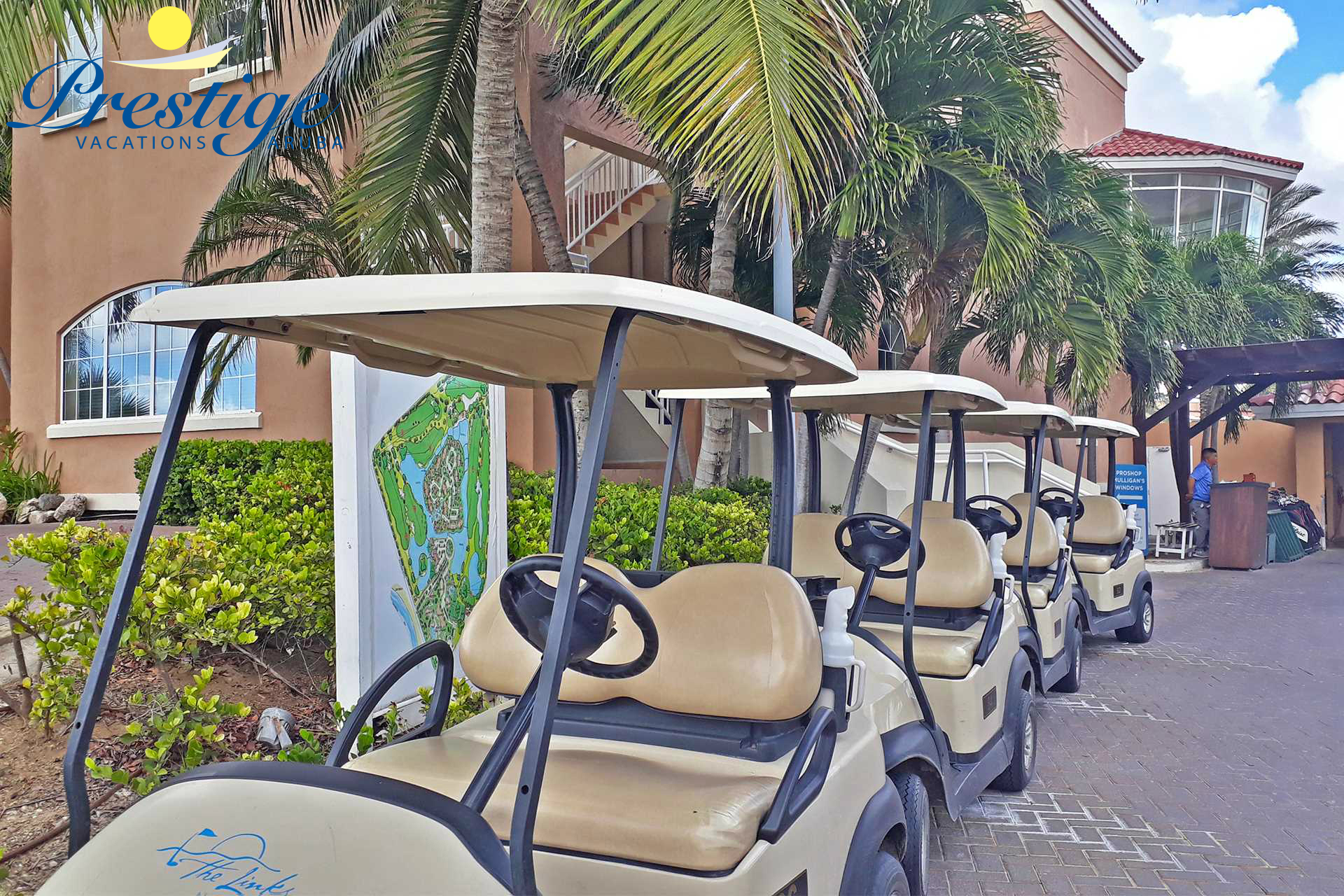 The Links at Divi Aruba maintains one of the newest and best fleets of rental clubs