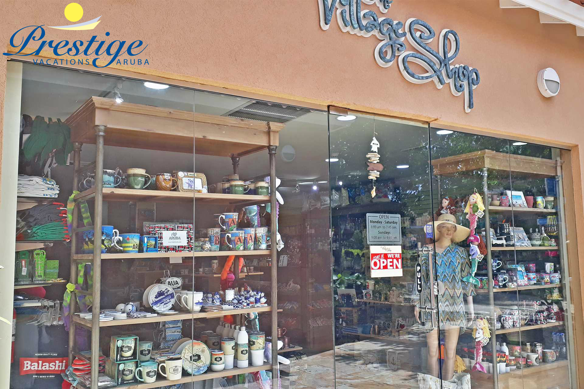 The Divi resort has a Gift Shop and a Mini-Mart on-site