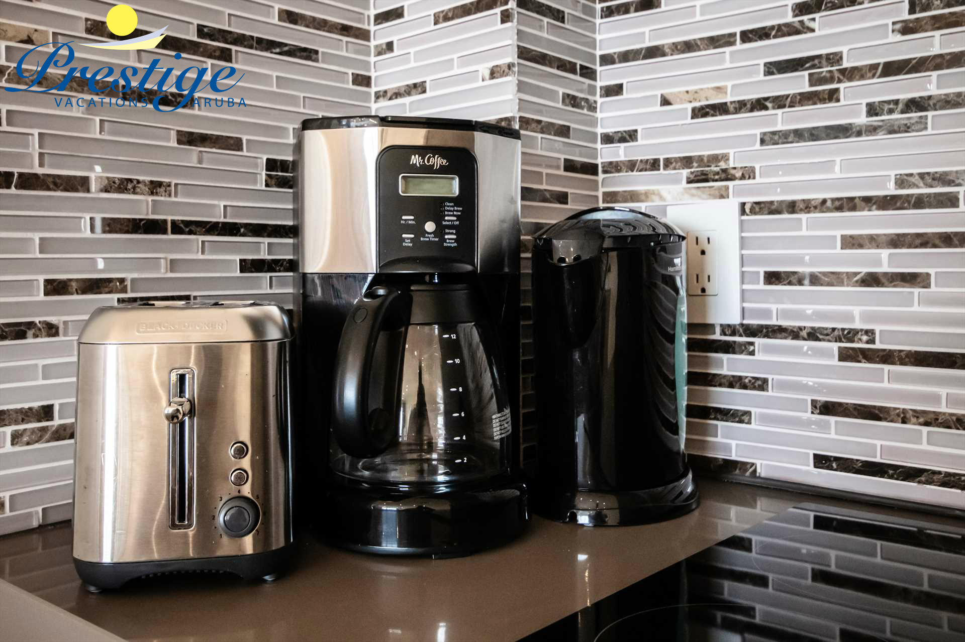 Your standard small kitchen appliances