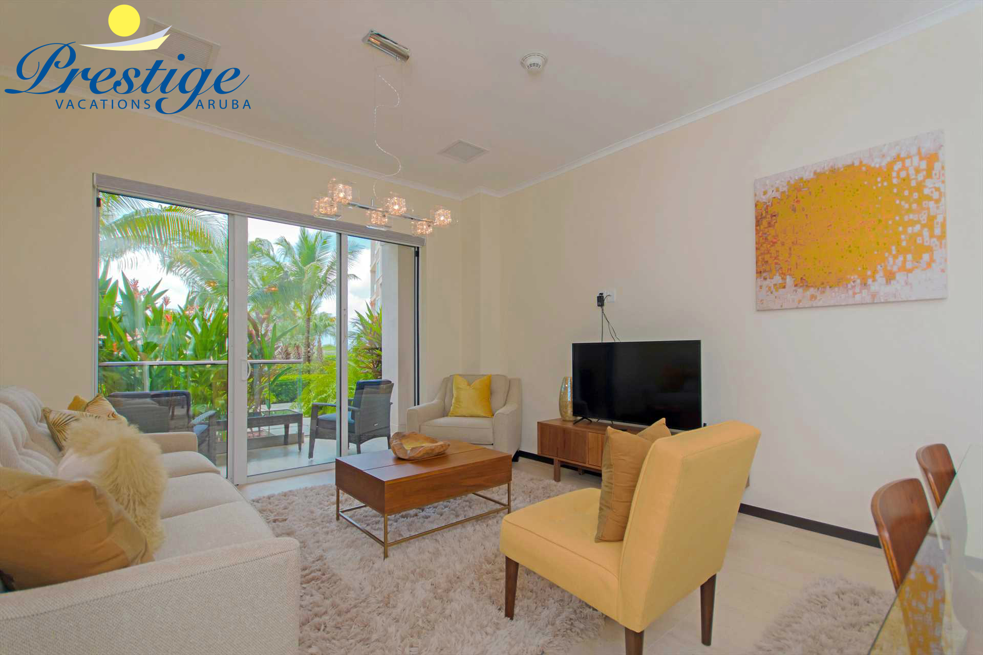 Your ultimate vacation rental living room!