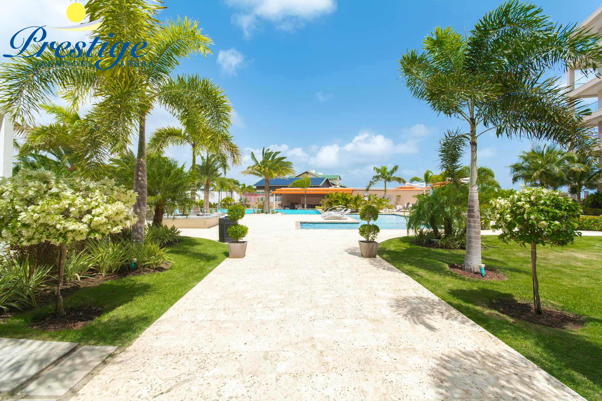 Just a few steps from the resort pool and outdoor areas!