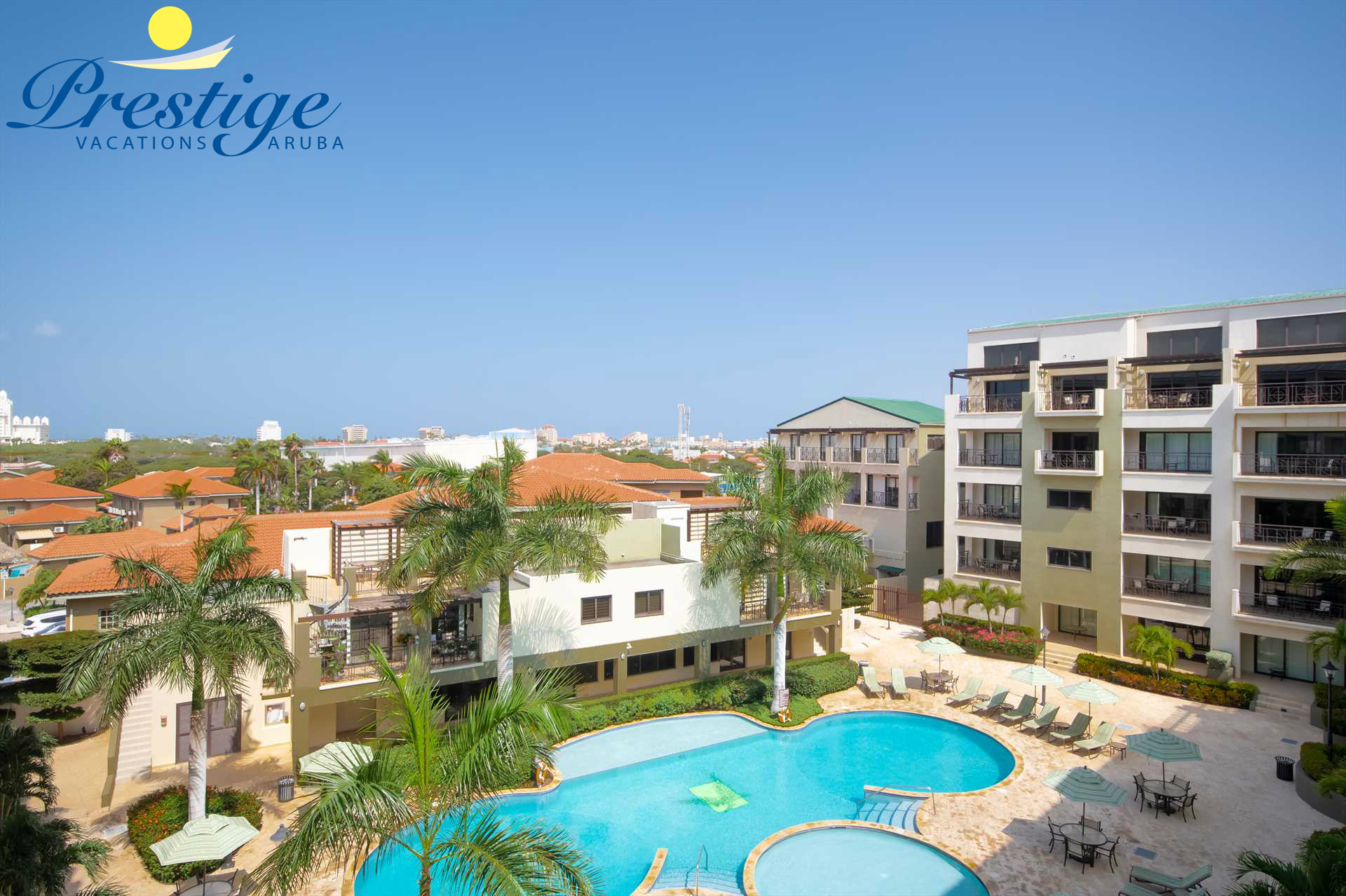 Wake up to paradise at the King Palm Two-bedroom condo