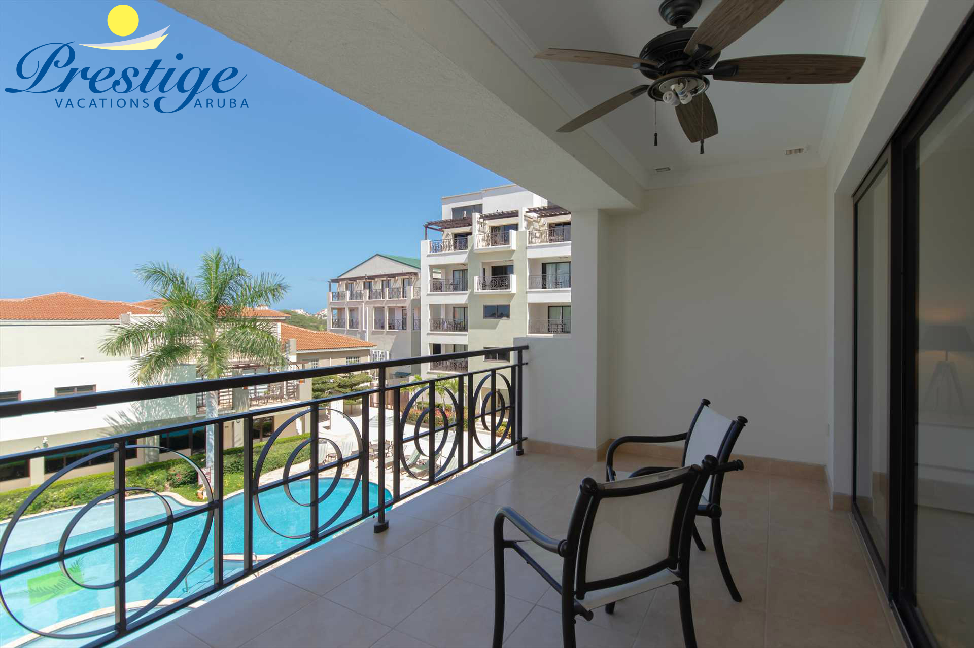 Welcome to your paradise escape! Pineapple Palm Two-bedroom condo