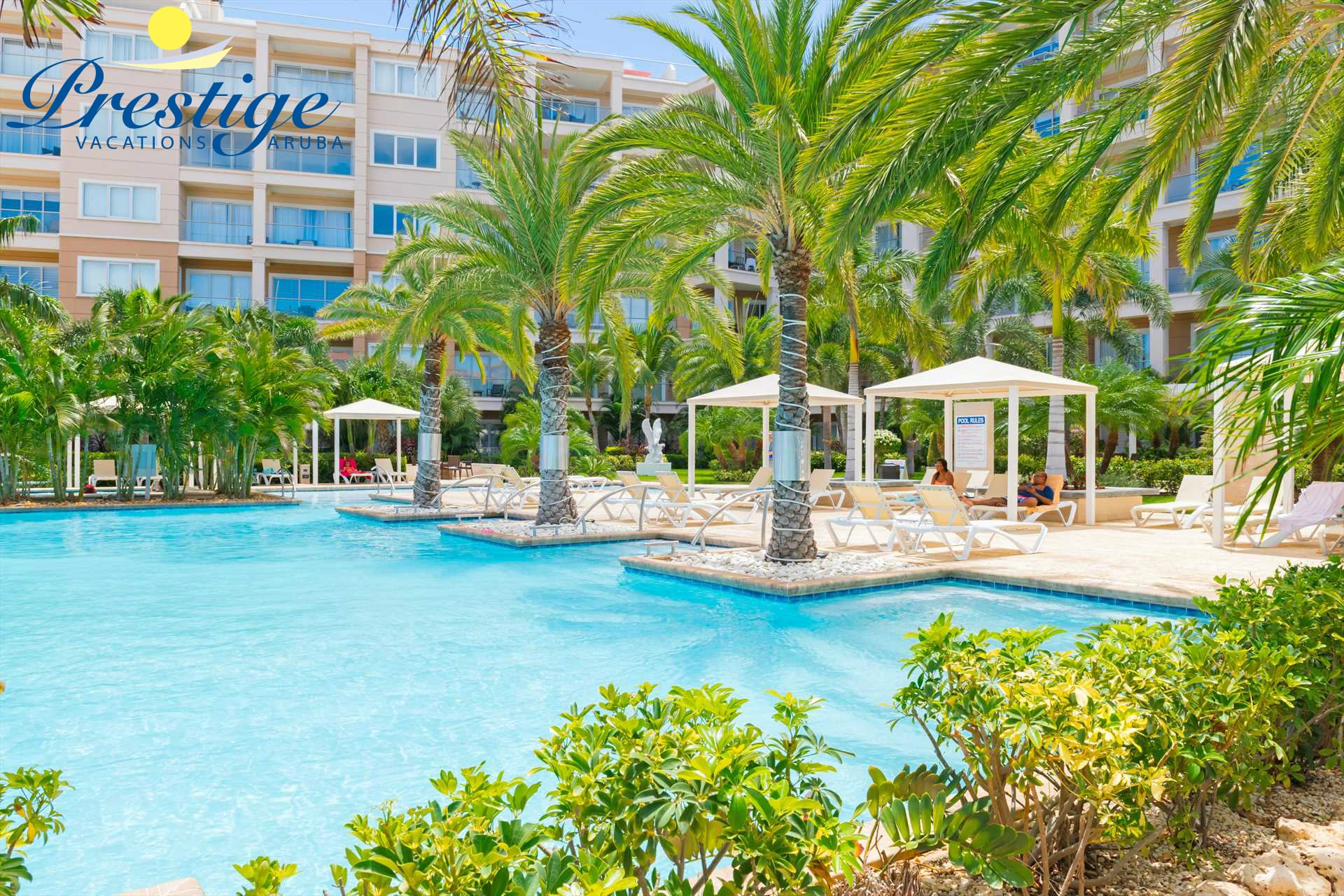LeVent Beach Resort Aruba has luxurious vacation rentals located at Eagle Beach!