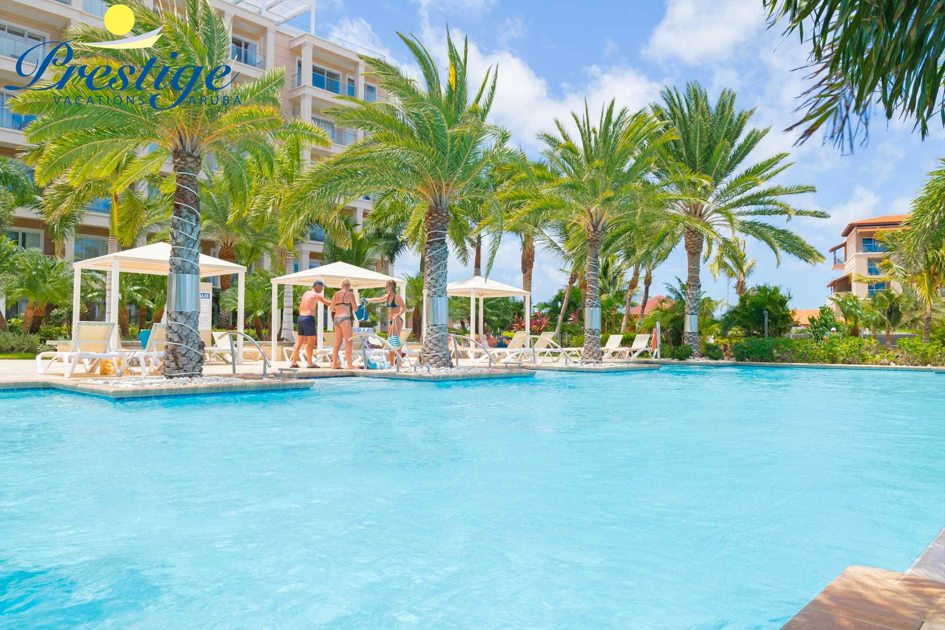 LeVent Beach Resort Aruba swimming pool to enjoy during your vacation