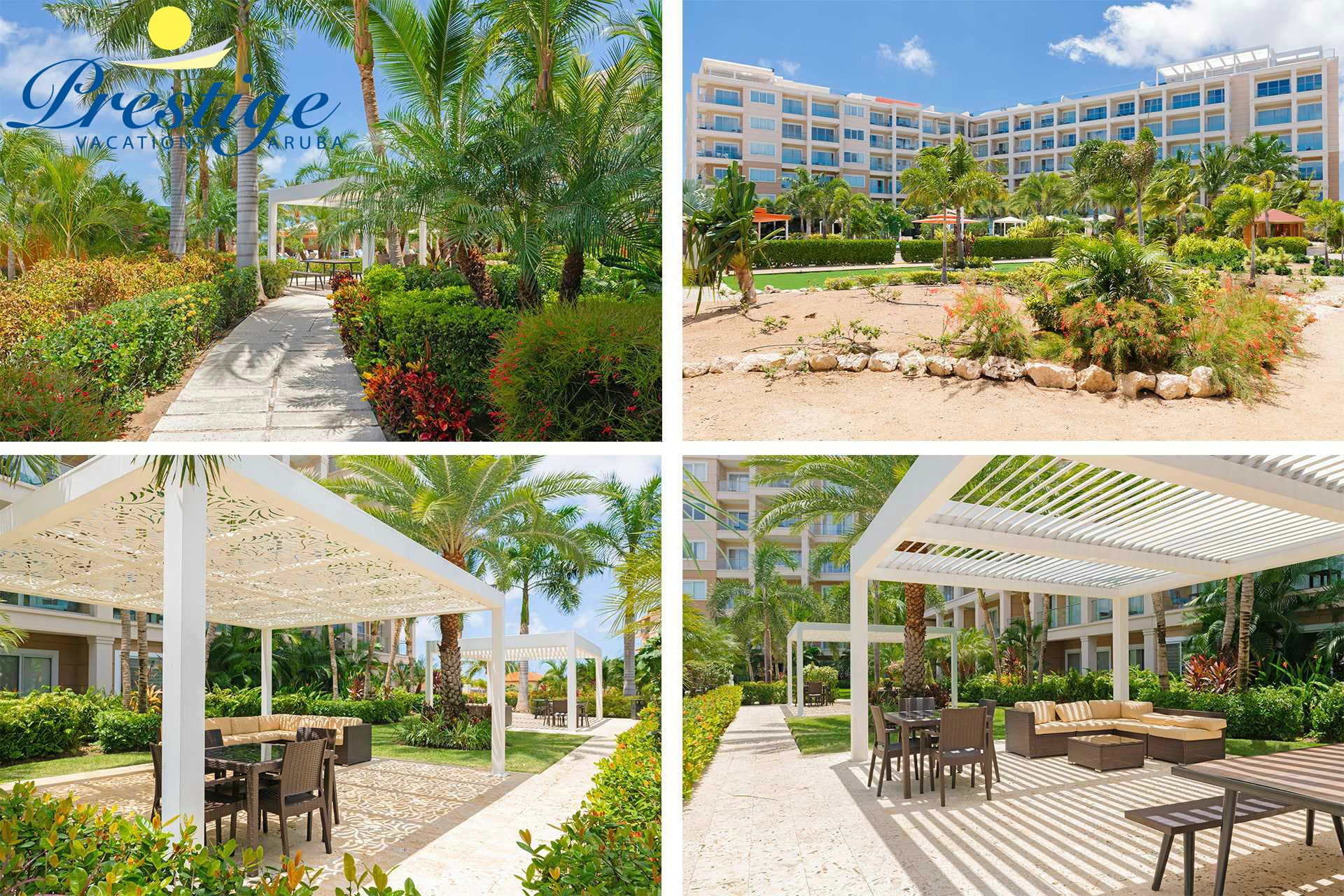 Enjoy the tranquility of the resort with its luscious tropical landscaping