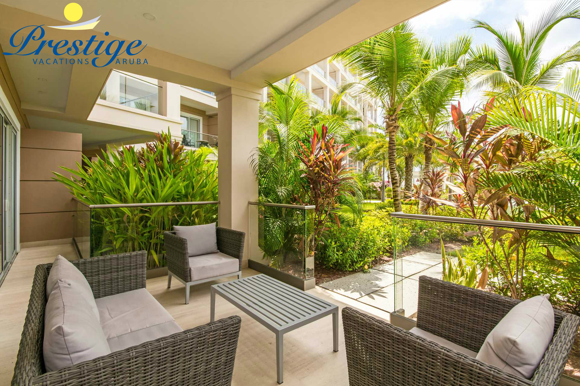 Easy access to and from the resort pool and outdoor areas
